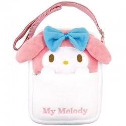 My Melody Plush Pochette Bag