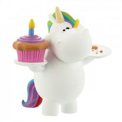 Mini Figura Pummel Unicorn Birthday