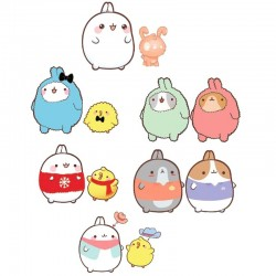 Molang Best Friends Figures Set
