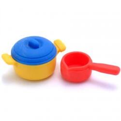Pans Erasers Set