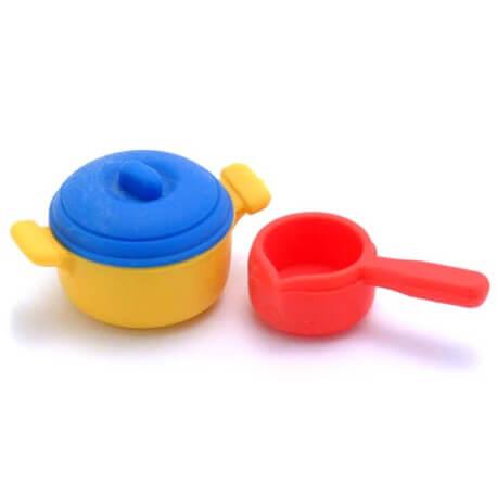 Pans Erasers