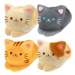 Kitty Coppe Pan Squishy