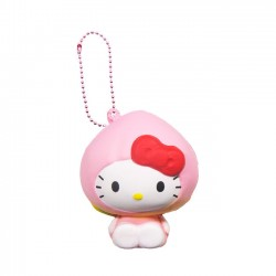 Hello Kitty Fruits Market Peach Squishy