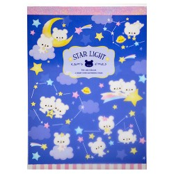 Star Light Memo Pad