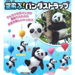 Colgante Panda Balloon Gashapon