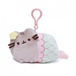 Pusheen Backpack Clip Mermaid