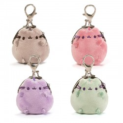 Pusheen Kiss Lock Coin Purse