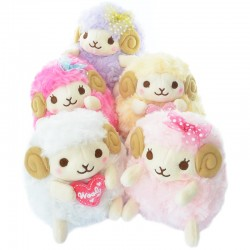 Wooly Sheep Heartful Girly Series Plush