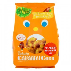 Caramel Corn Snack Roasted Almond
