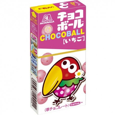 Chocoball Strawberry Chocolate Balls