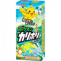 Pokémon Karipori Candy Sticks Soda & Fruit Mix