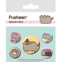 Pusheen Button Badges Fancy Set