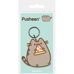 Pusheen Keychain Pizza