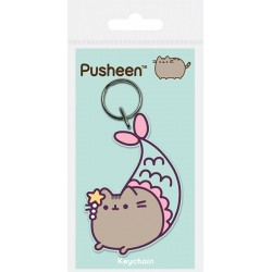 Pusheen Keychain Mermaid