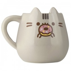 Pusheen Die-Cut Donut Mug