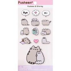 Stickers Puffy Pusheen & Stormy