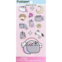 Stickers Puffy Pusheen Magical Kitties