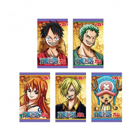 One Piece Chewing Gum Set