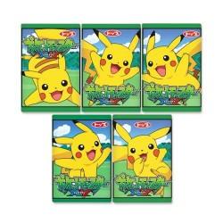 Set Pastilhas Elásticas Pikachu