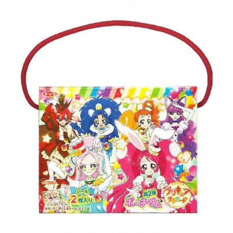 KiraKira PreCure La Mode Stickers Chewing Gum