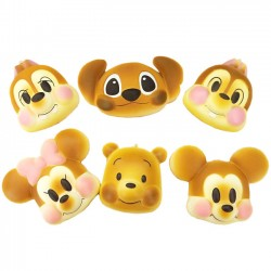 Disney Characters Big Cheeks Bread Squishy
