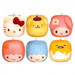 Sanrio Characters Chigiri Bread Squishy