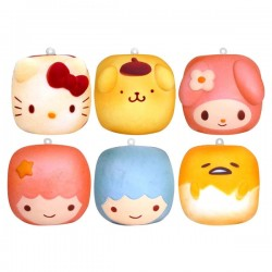 Squishy Sanrio Characters Chigiri Bread