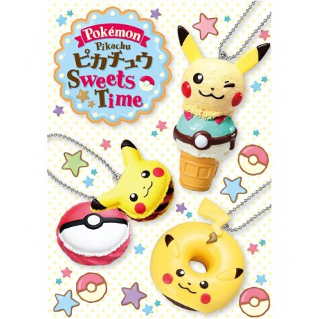 Re-Ment Pikachu Sweets Time