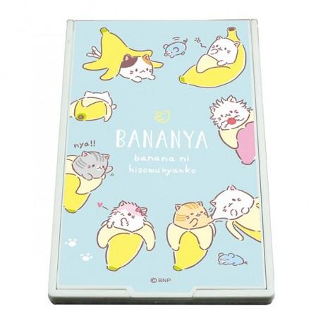 Bananya Nyanko Pocket Size Mirror