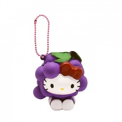 Hello Kitty Fruits Market Grape Squishy
