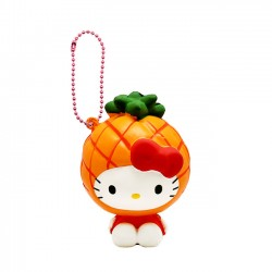 Hello Kitty Fruits Market Pineapple Squishy