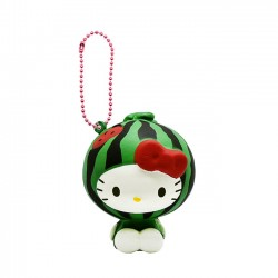 Hello Kitty Fruits Market Watermelon Squishy