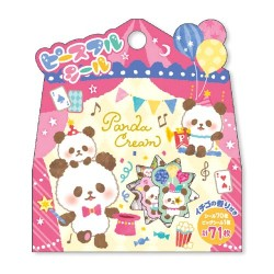 Saco Stickers Panda Cream