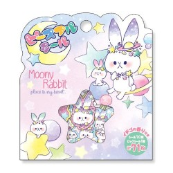 Moony Rabbit Stickers Sack