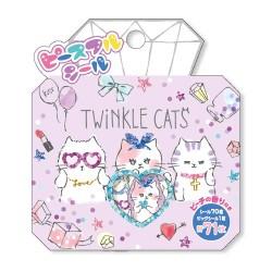 Bolsa Pegatinas Twinkle Cats
