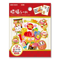 Saco Stickers Japanese Good Fortune
