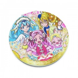 HUGtto! PreCure Pocket Size Mirror Heart