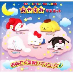 Mini Figura Sanrio Characters Oyasumi Gashapon