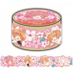 Washi Tape Die-Cut Cardcaptor Sakura Hanami