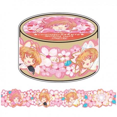 Cardcaptor Sakura Die-Cut Washi Tape Hanami