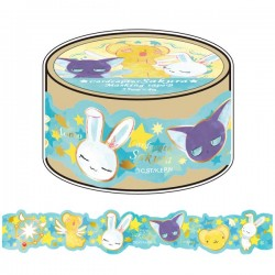 Cardcaptor Sakura Die-Cut Washi Tape Guardians