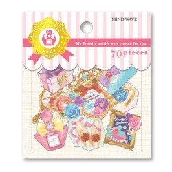 Girly Motifs Stickers Sack