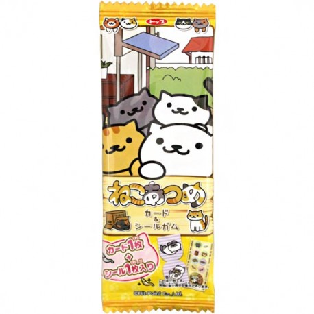Neko Atsume Stickers Chewing Gum Kawaii Panda Making
