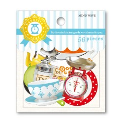 Kitchen Goods Stickers Sack