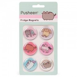 Set Ímans Frigorífico Pusheen Magical Kitties