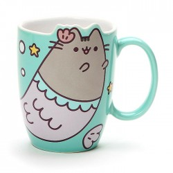Caneca Pusheen Die-Cut Mermaid