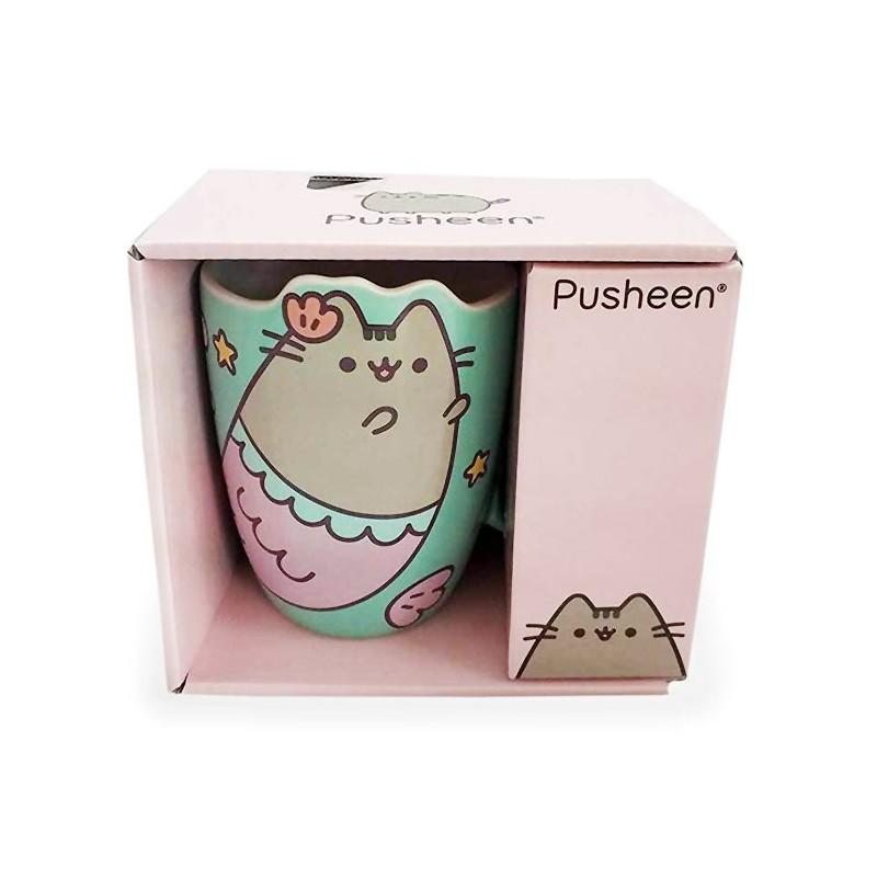 Pusheen Mermaid Die-Cut Mug