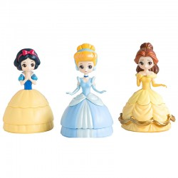 Disney Princess Heroine Doll Capchara Figure Gashapon