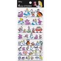 Alice in Wonderland 4 Size Stickers