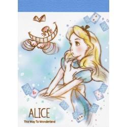 Mini Bloco Notas Prism Garden Alice